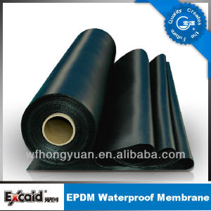 No. 1 EPDM Rubber Roof Sheet Waterproof Membrane pictures & photos