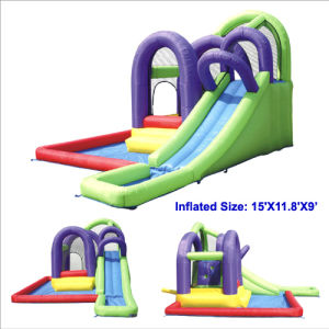 Top PVC Inflatable Slide Combo Pool (MIC-866) pictures & photos