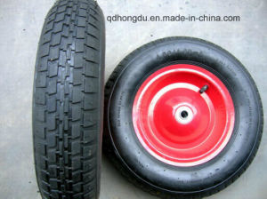 Load 160kg Wheelbarrow Pneumatic Rubber Wheel pictures & photos