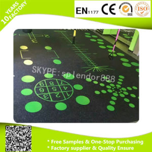 Rubber Commercial Recreational Flooring EPDM Rubber Flooring pictures & photos