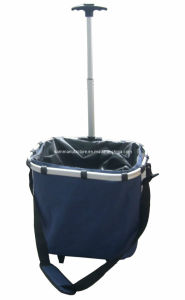 Collapsible Shopping Trolley Bag (KM4511) pictures & photos