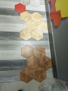 Art Deco Tiles Matt Surface Rustic Hexagon Brick Look Floor Tiles pictures & photos