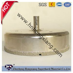 Electroplate Diamond Drill Bit for Glass Hole SA pictures & photos