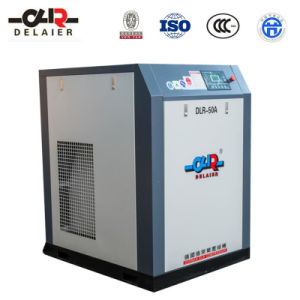Dlr High Pressure Rotary Screw Air Compressor Dlr-50A (Belt Drive)