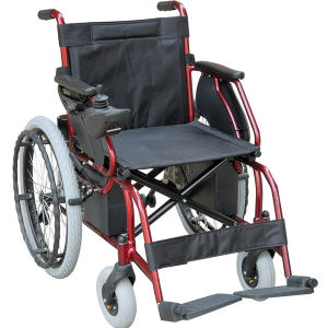 Foldable Power Wheelchair, Big Rear Wheels Electric Wheelchairs pictures & photos
