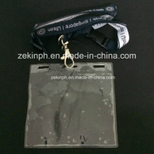 Cotton Customized Lanyard with Card Holder pictures & photos