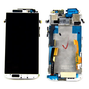 Repair Parts Mobile Phone Display for HTC One M8 with Touch Screen Frame