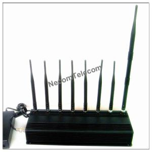 8bands Mobile Phone Jammer for 3G, 4glte Cellular, GPS, Lojack, pictures & photos