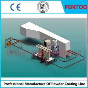 Powder Spray Line for Coating Aluminum Profiles with High Capacity pictures & photos