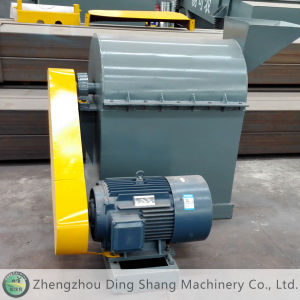 Single Pole Crusher for Semi Wet Material Bsfs-90