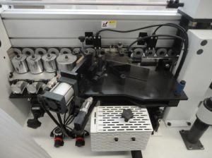 Sosn Edge Banding Machine with Function of Side Drilling (FZ-450DC) pictures & photos