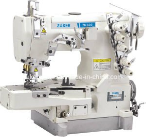 Zuker Pegasus Cylinder Flat Bed Interlock Sewing Machine (ZK600-02BB)