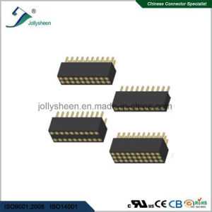 Machine Female Herader Pitch2.54mm Straight  Type  H3.0mm Connector pictures & photos