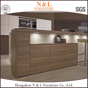 N&L Particle Board MFC Veneer Kitchen Cabinet pictures & photos