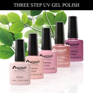Easy Soak off Messier Brand UV/LED Color Coat Nail Art