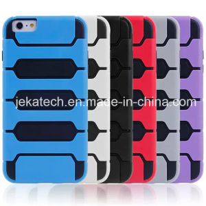 Tank Design 2 in 1 Combo Case for iPhone 6 Plus pictures & photos