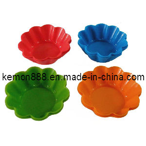 Set of 6PCS Silicon Flower Cupcake Cups (60109)