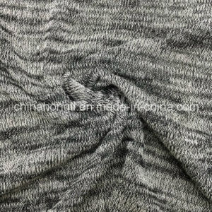Hacci R/P/Sp 75/20/5, 155GSM, Knitting Solid Dye Fabric for Sweater pictures & photos