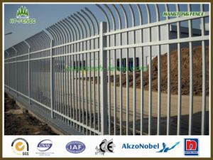 Powder Coating Black Garrison/Tublar/Deplomat Fence pictures & photos