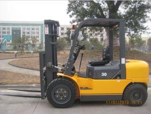 3.0ton TCF Diesel Forklift (FD30) pictures & photos