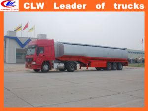 Three Axles Heavy Allumium Fuel Truck-Trailer pictures & photos