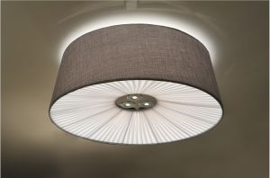 Simple Design Linen Shade Pendant Lamp L12105-H5 with Ce&RoHS Certificate pictures & photos