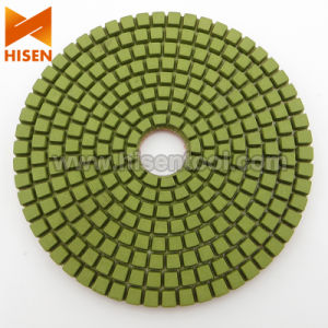 "4"" Economy Diamond Wet Polishing Pads pictures & photos"