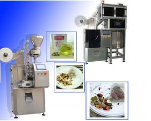 Automatic Triangle Pyramid Nylon Tea Bag Packaging Machinery pictures & photos