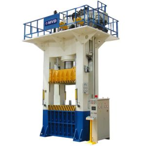 500 Tons Double Acting Hydraulic Press for Cookware Plate 5000kn pictures & photos