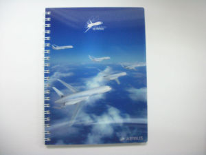 2015 Novel Custom Notebook Printing with 3D pictures & photos