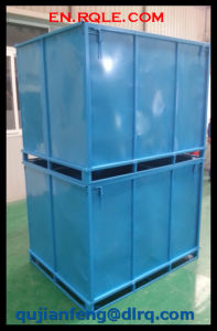 Blue Painted Metal Storage Case for Warehouse & Transportation