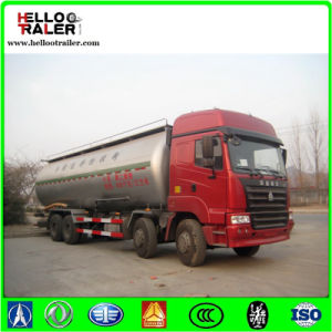 Sinotruck 8X4 HOWO Cement Tank Truck Price for Sale pictures & photos