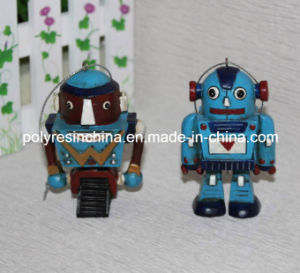 Polystone/Resin/Polyresin Robot Figure Crafts, Robot Hanging Ornament pictures & photos
