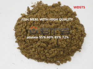 Steam Dried Fish Meal for Chicken Feed (60% protein) pictures & photos