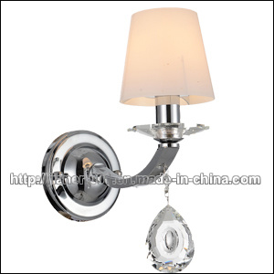 CE Hotel Crystal Wall Sconces Lamp with Glass Shades pictures & photos