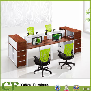 Classic Design Wooden Office 4 Seater Workstation pictures & photos