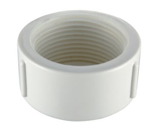 PVC-U BS Theraded Pipe Fittings End Cap pictures & photos