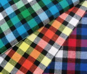 Checked Cotton Fabric pictures & photos