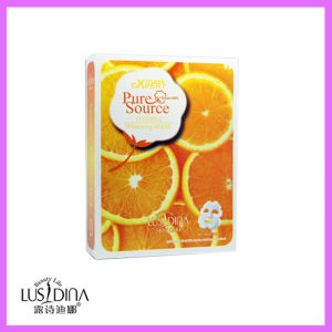 Vitamin C Orange Whitening Non-Woven Facial Mask pictures & photos