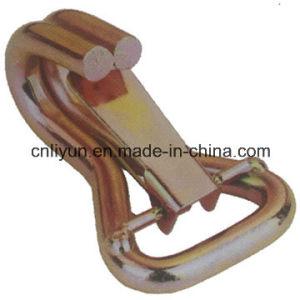 50mm Double J-Hook, W/Clip for Ratchet Tie Down