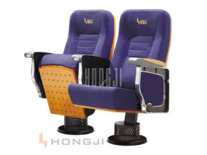 Aluminum Auditorium Seat, Concert Hall Chair, Pink Fabric Chairs Hj9622 pictures & photos