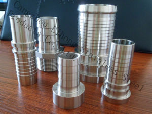 Stainless Steel Pipe Fitting Hose Nipple From Casting or Pipe pictures & photos
