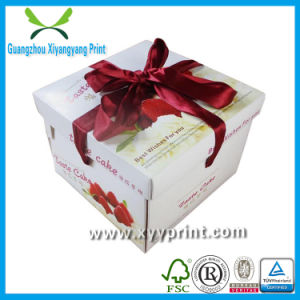 Custom Eco-Friendly Promotional Cake Box Packaging pictures & photos