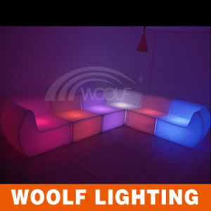 Lighted LED Sofa/Color Changing Sofa/2015 Hot Sale Sofa pictures & photos