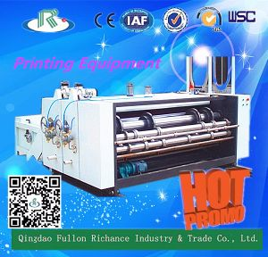 Low Price Two Color Corrugated Cardboard Printer pictures & photos