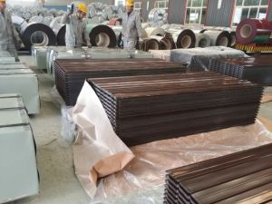 11 Waves Q235 Building Material Prepainted Galvanized Steel Roofing Sheet pictures & photos