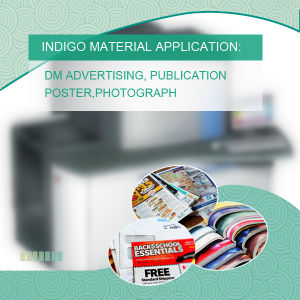 Photo Paper White BOPP Jumbo Roll for Indigo Digital Printer pictures & photos