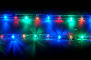 led rope light round 2 wires multicolor pictures & photos