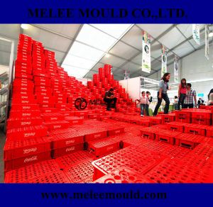 Plastic Cola Bottle Crate Mould pictures & photos