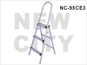 Construction/Supermarket Aluminum-Alloy Aluminum Ladder with 3 Steps SGS (NC-95CE 3)